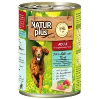 Nassfutter Activa NATUR plus ADULT 70 % Kalb und Rind