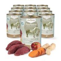 Nassfutter AniForte PureNature Ranch Horse - Pferd mit Süßkartoffeln & Äpfeln