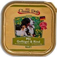 Nassfutter Classic Dog Adult Geflügel & Rind