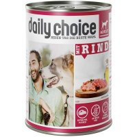 Nassfutter daily choice Mit Rind Adult
