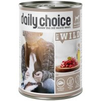 Nassfutter daily choice Mit Wild Adult