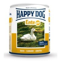 Nassfutter Happy Dog Ente Pur