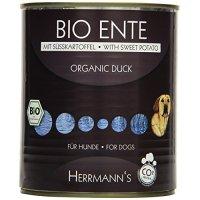 Nassfutter Herrmanns Bio-Ente mit Süßkartoffeln