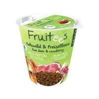 Snacks bosch Fruitees Rehwild & Preiselbeere