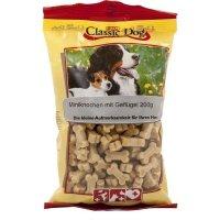 Snacks Classic Dog Miniknochen mit Geflügel