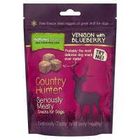 Snacks Natures Menu Country Hunter Vension with Blueberry