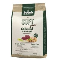 Trockenfutter bosch SOFT Mini Rehwild & Kartoffel