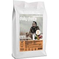Trockenfutter daily choice Grainfree Ente mit Kartoffeln und Erbsen
