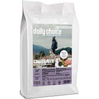 Trockenfutter daily choice Grainfree Truthahn mit Kartoffeln und Erbsen