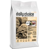Trockenfutter daily choice Sensitive Ente & Reis mit Erbsen