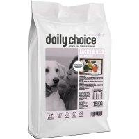 Trockenfutter daily choice Sensitive Lachs & Reis mit Erbsen