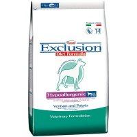 Trockenfutter Exclusion Diet Hypoallergenic Venison & Potato small Breed