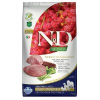 Trockenfutter Farmina N&D Quinoa Weight Management Lamb Adult All Breed