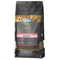 Trockenfutter Grau Excellence ADULT Sensibel mit Lachs