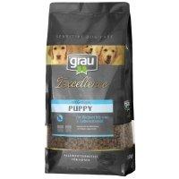 Trockenfutter Grau Excellence Puppy mit Geflügel