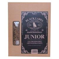 Trockenfutter Luckys Black Label Junior ofengebacken, getreidefrei