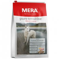 Trockenfutter Mera pure sensitive fresh meat Adult Truthahn & Kartoffel