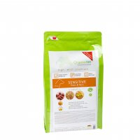 Trockenfutter OrganicVet SENSITIVE Ente & Reis