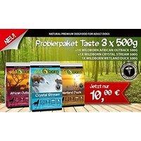 Trockenfutter Wildborn Probierpaket 1