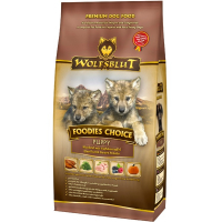 Trockenfutter Wolfsblut Foodies Choice Puppy