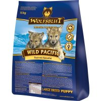 Trockenfutter Wolfsblut Wild Pacific Puppy Large Breed